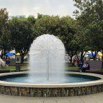 Brunnen im Park in Koper