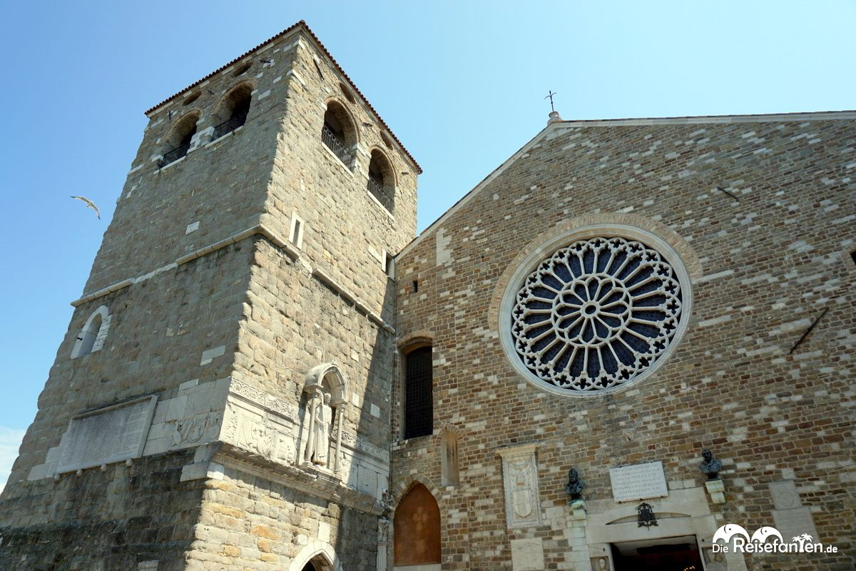 Die Cattedrale di San Giusto Martire in Triest