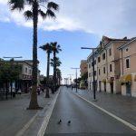 Die Promenade von Koper