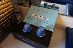 Nespresso Kapseln wurden auf der Kabine der Mein Schiff 2 zur Verfügung gestellt