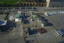 Blick auf das Kreuzfahrtterminal von Koper in Slowenien