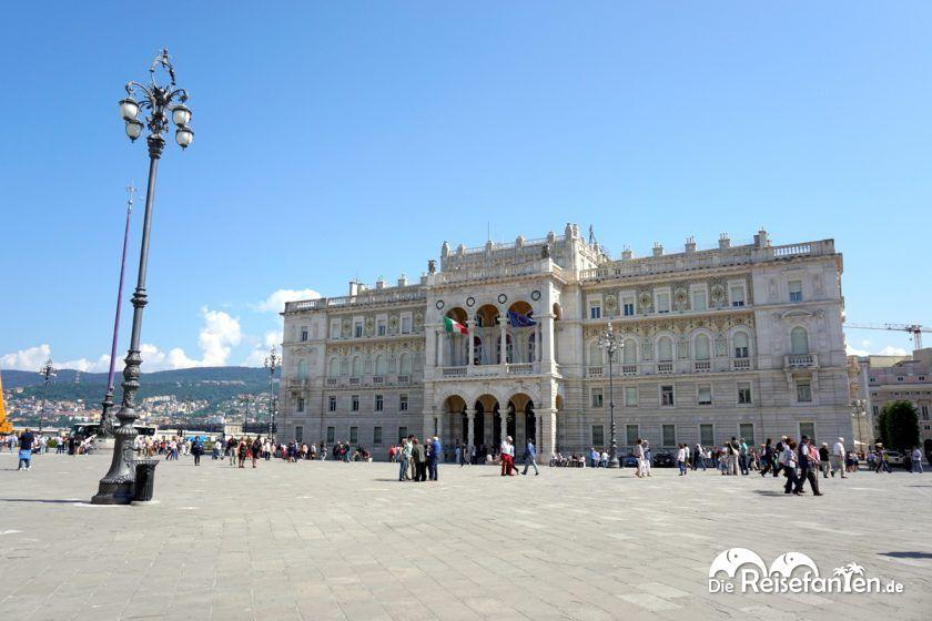 Der Palazzo del Governo in Triest