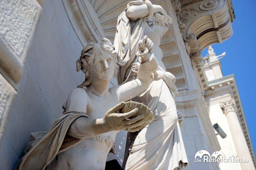 Die Fontana di Teti in Triest