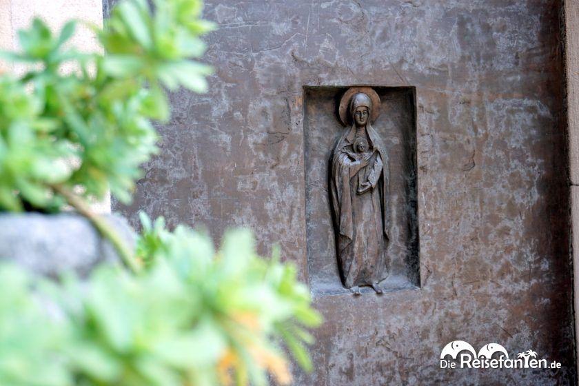 Religiöse Symbole sind überall in Triest zu finden