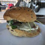 Burger mit Birne auf der Mein Schiff 2
