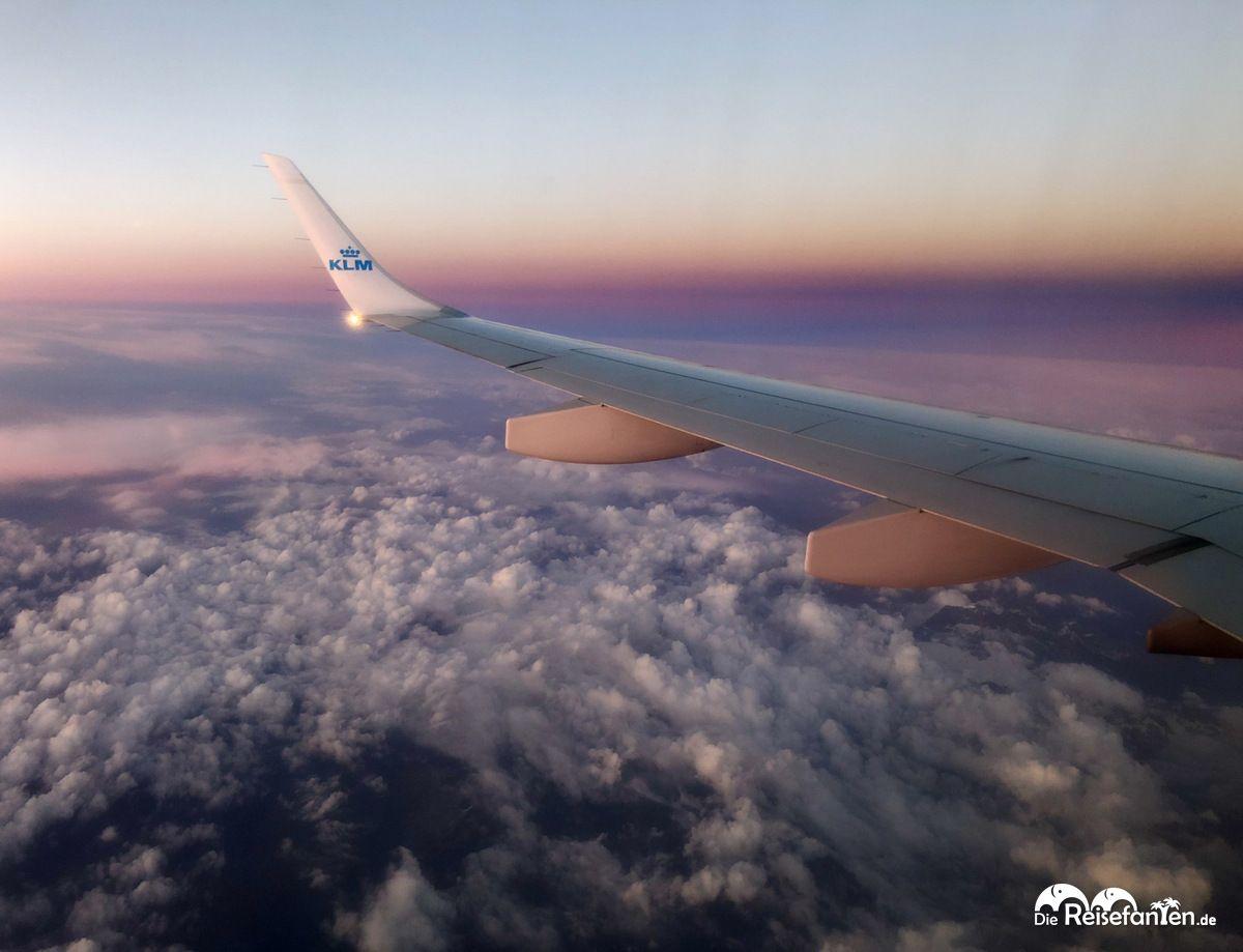 Flug nach Florenz