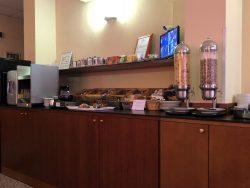 Frühstück im Hotel Diva in Florenz