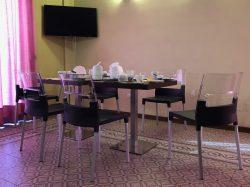 Frühstücksraum im Hotel Diva in Florenz