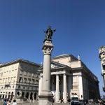Piazza della Borsa in Triest