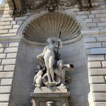 Skulptur im Stadtzentrum von Triest