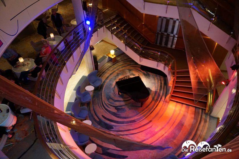 Atrium auf der Mein Schiff 2