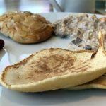 Auch Pancakes und Bircher Müsli gab es auf der Mein Schiff 2