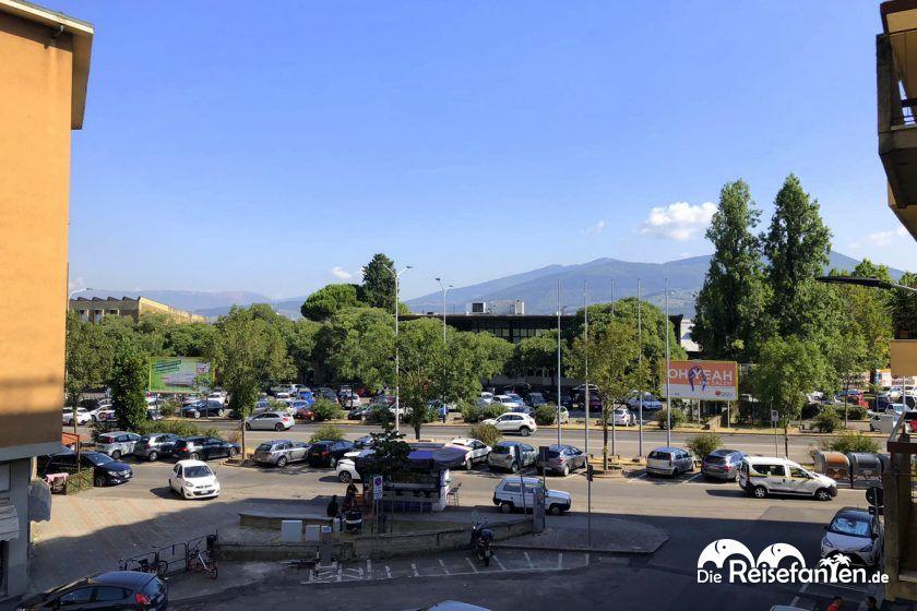 Ausblick aus dem Hotel Diva in Florenz