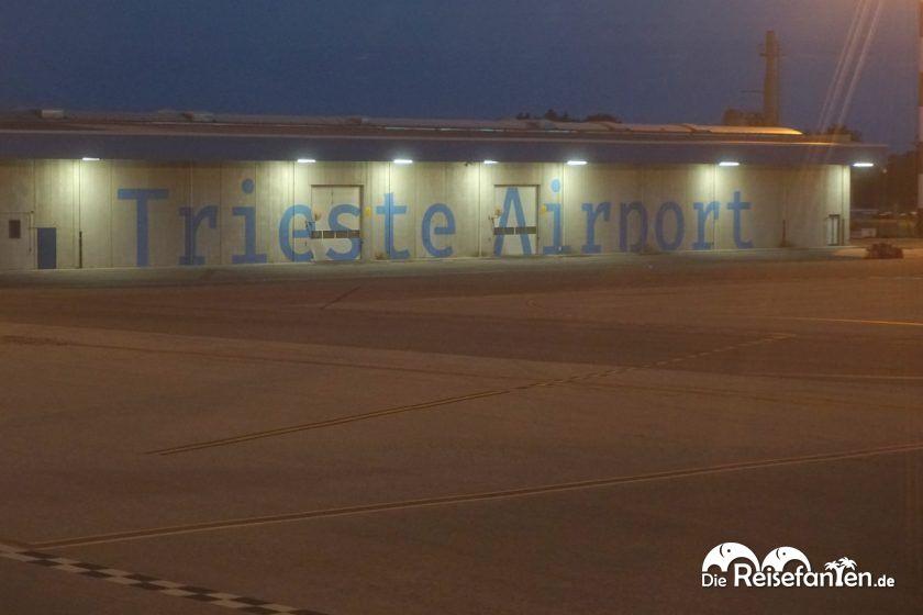 Der Flughafen von Triest