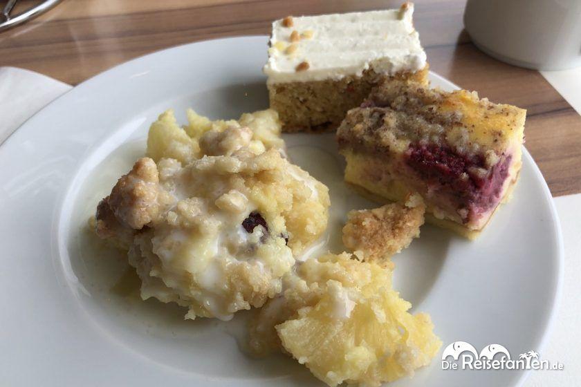 Kuchenzeit auf der Mein Schiff 2