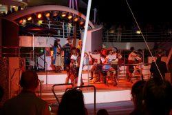 Showprogramm auf der Mein Schiff 2