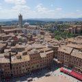 Über den Dächern von Siena