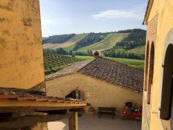 Blick aus der Fattoria Voltrona San Gimignano