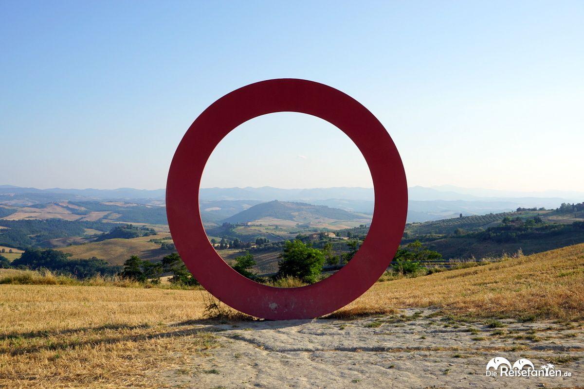 Der Anello in der Nähe von Volterra