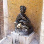 Der Schildkrötenbrunnen in Siena