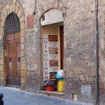 Die La Piccola Ciaccineria in Siena von aussen