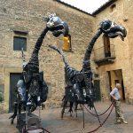 Dinos auf der Mercantia in Certaldo