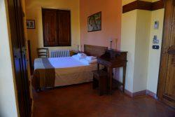 Doppelzimmer in der Fattoria Voltrona San Gimignano