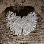 Engelsflügel auf der Mercantia in Certaldo