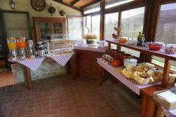 Frühstück in der Fattoria Voltrona San Gimignano