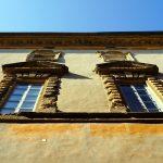 Gebäude in Volterra