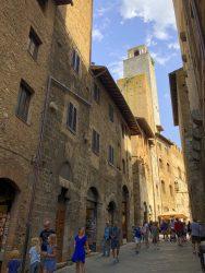 In der Altstadt von San Gimignano gibt es noch 15 Geschlechtertürme