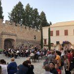 Kleines Konzert auf der Mercantia in Certaldo