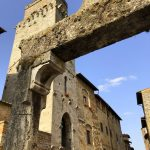 Mittelalterliche Bauweise in San Gimignano