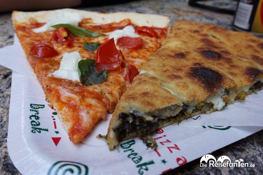 Stück Pizza von der La Piccola Ciaccineria