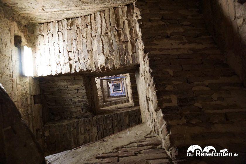 Der Aufstieg zum Torre del Mangia
