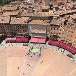 Der Piazza del Campo von oben