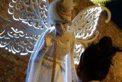 Engel auf der Mercantia in Certaldo