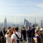 Auf dem Dach des Rockefeller Center