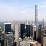 Blick vom Rockefeller Center Richtung Central Park