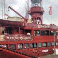 Das Feuerschiff im Hamburger Hafen