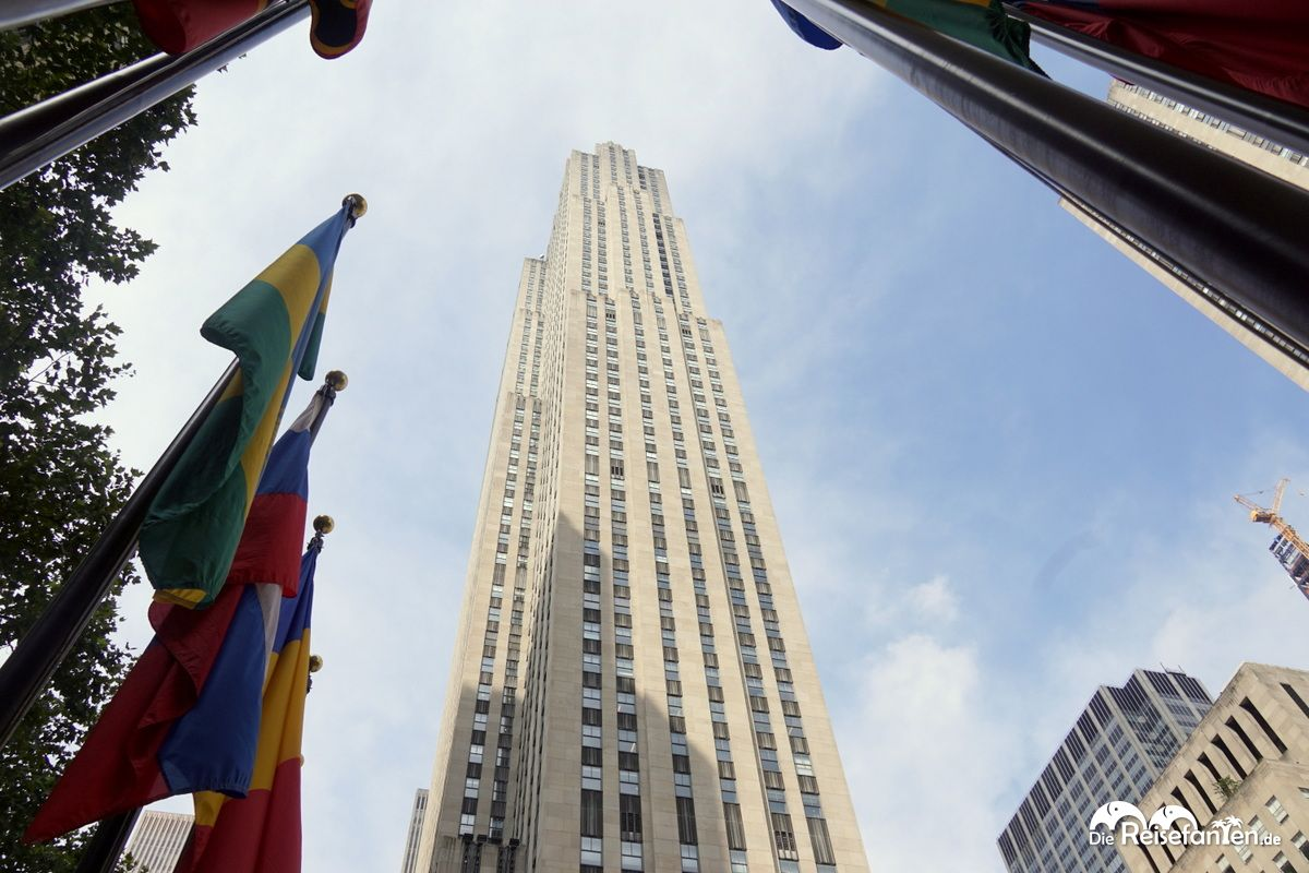 Das Rockefeller Center in New York City