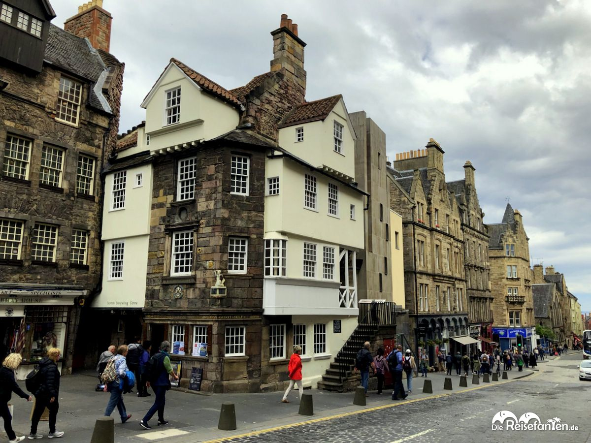 Die Altstadt von Edinburgh