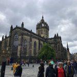 Die Royal Mile in Edinburgh