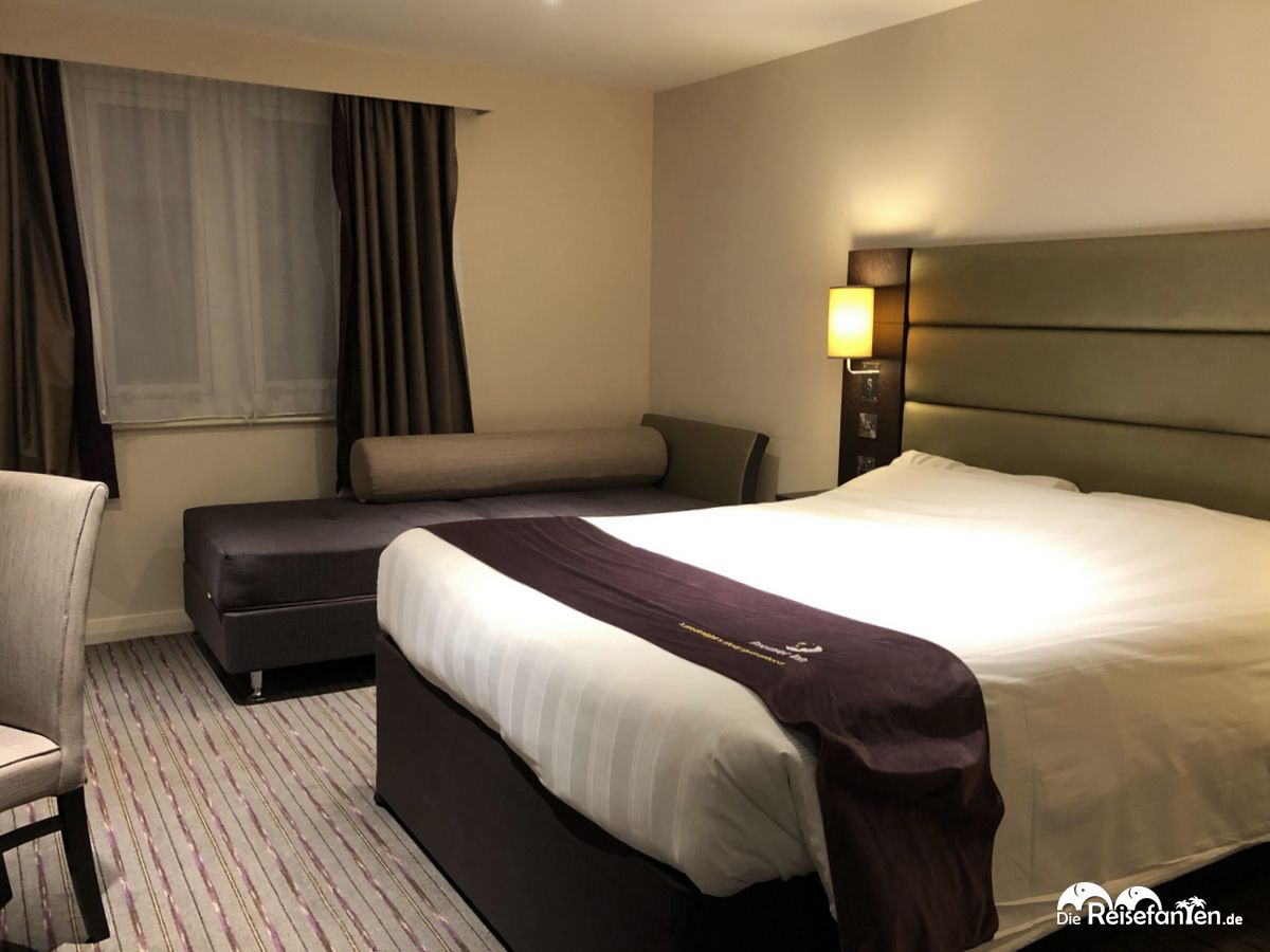 Doppelzimmer im Premier Inn Edinburgh Central Lauriston Place