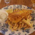 Fish and Chips bei Berties in Edinburgh
