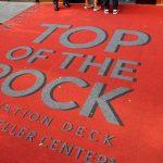 Teppich vor dem Rockefeller Center
