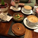 Frühstücksauswahl im Deacon's House Cafe in Edinburgh