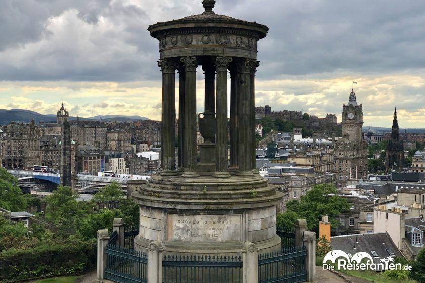 Das Dugart Stewart Monument in Edinburgh