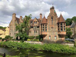 Dean Village am River Leith in Edinburgh
