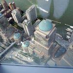 Die Südspitze Manhattans von oben
